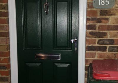 Green Endurance Door