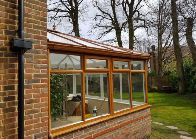 New Conservatory roof