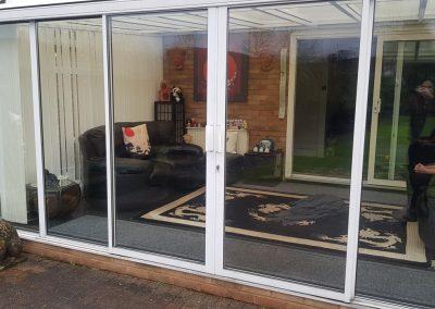 Repair to patio doors