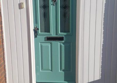 Turquoise Endurance Door