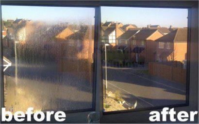 Misted-windows