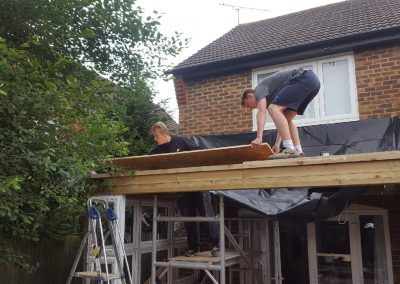 Vickies conservatory insulation