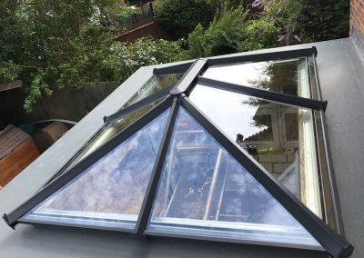Vickies conservatory skylight